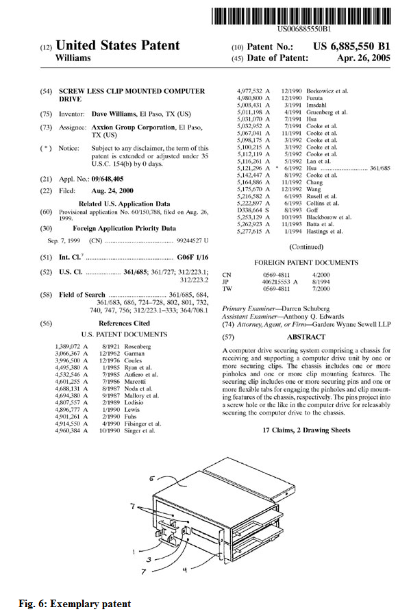 Encoding Patent Bibliographic References Teiwiki